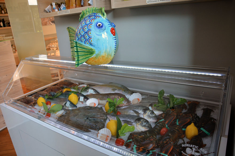 ristorante pesce mare a Lecco